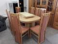 Esstisch + 8 Stühle