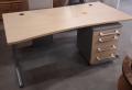 Schreibtisch + Rollcontainer