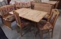 Eckbank, Tisch + 2 Stühle